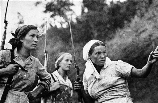 WWII Russia Women Guerillas